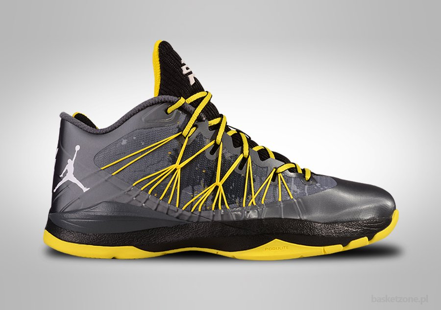 NIKE AIR JORDAN CP3.VII DARK GREY VIBRANT YELLOW
