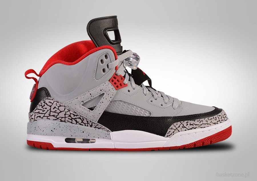 brand new 4e2fd 9d168 NIKE AIR JORDAN SPIZIKE WOLF GREY GYM RED CEMENT
