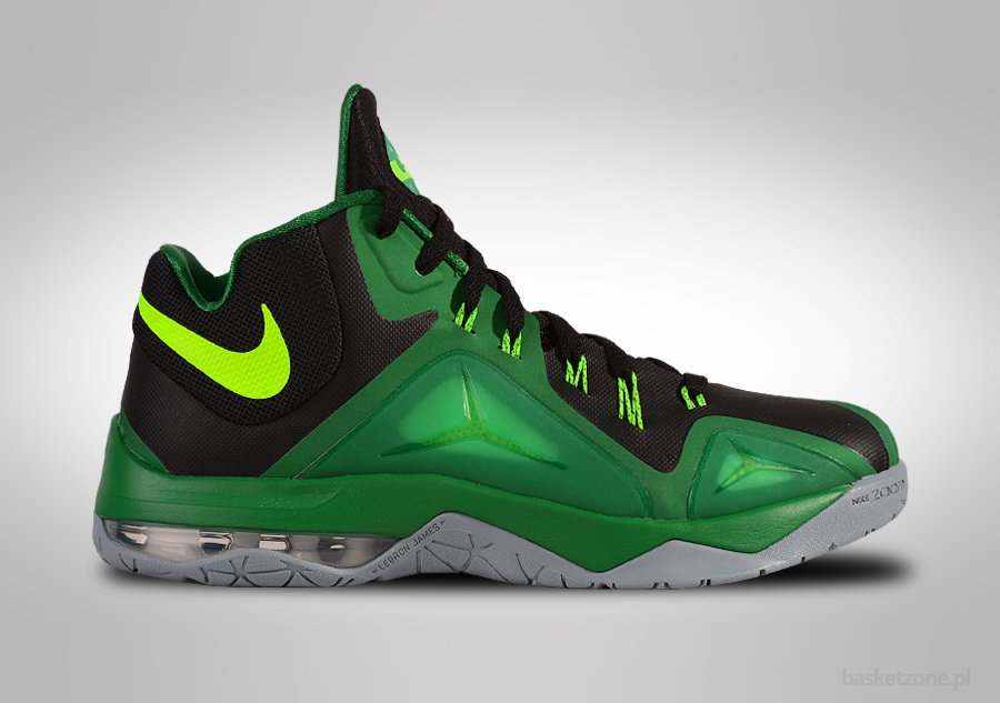NIKE ZOOM LEBRON AMBASSADOR VII ELECTRIC GREEN