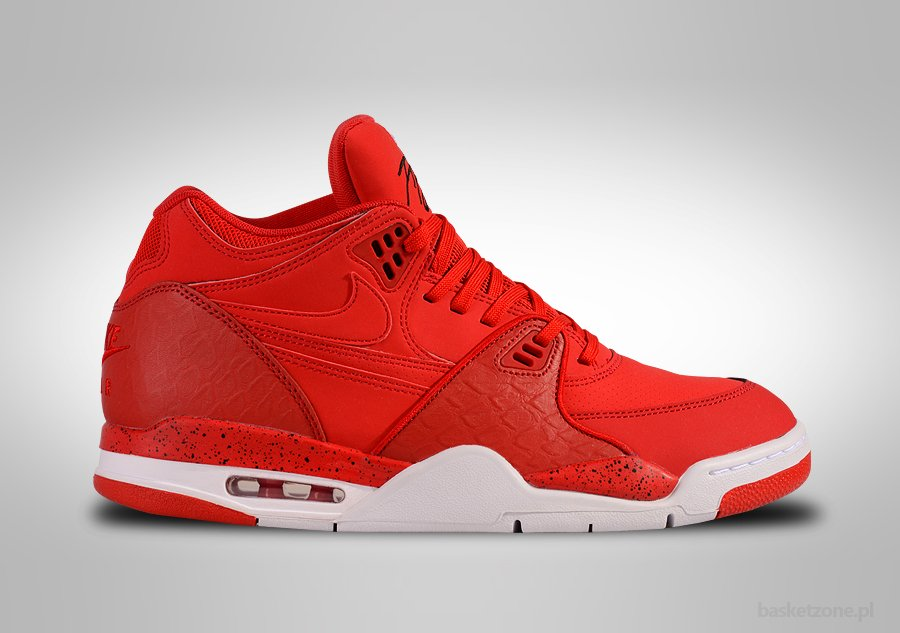 NIKE AIR FLIGHT '89 PYTHON PACK UNIVERSITY RED