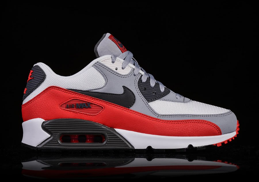NIKE AIR MAX 90 ESSENTIAL CHALLENGE RED