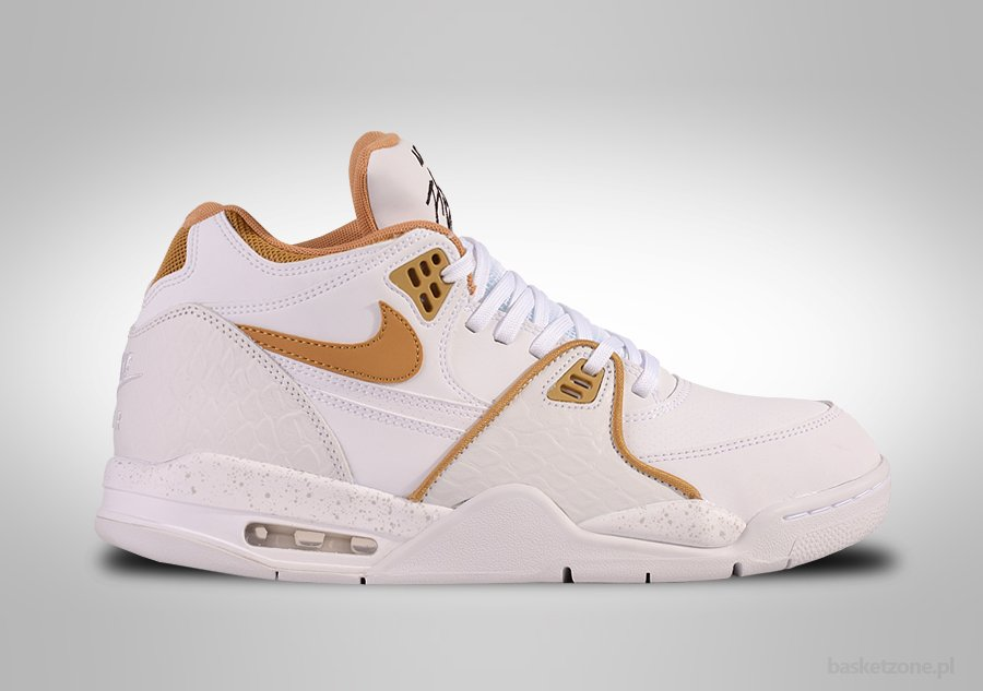 NIKE AIR FLIGHT '89 WHITE METALLIC GOLD