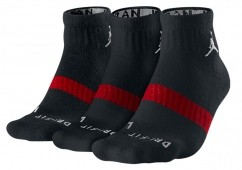 NIKE JORDAN DRI-FIT LOW QUARTER 3PK SOCKS