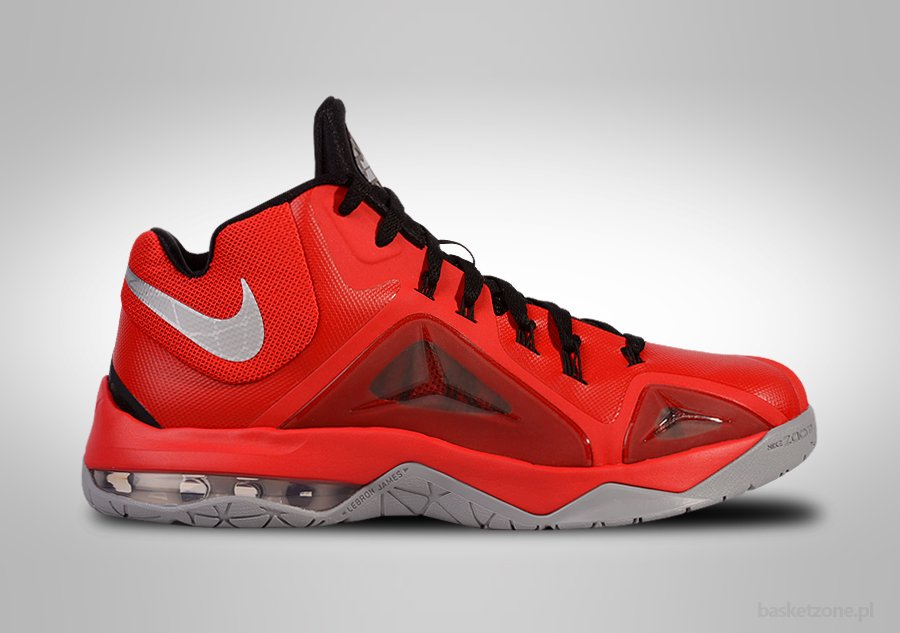 NIKE ZOOM LEBRON AMBASSADOR VII UNIVERISTY RED