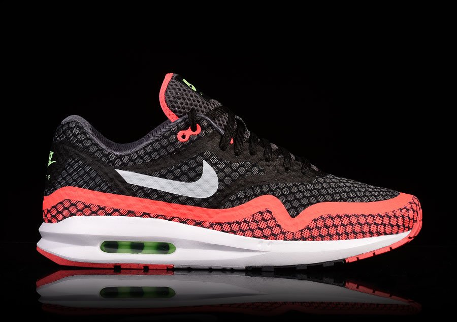 NIKE AIR MAX LUNAR1 BR BLACK HOT LAVA