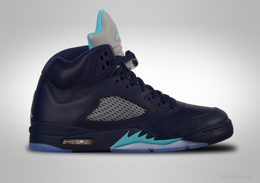 NIKE AIR JORDAN 5 RETRO MIDNIGHT NAVY BG (SMALLER SIZE)