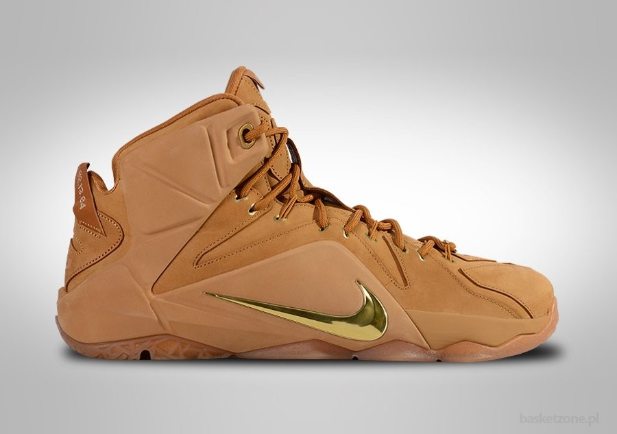 NIKE LEBRON XII EXT QS WHEAT