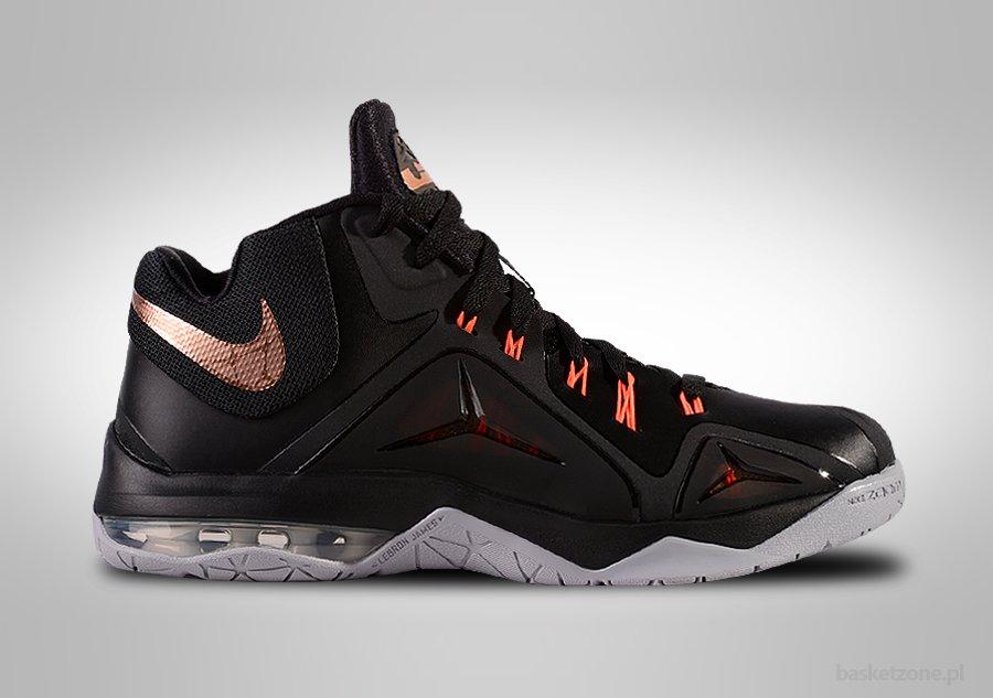 Nike Lebron Ambassador V (5) Czarne Szare Zielone Buty Do