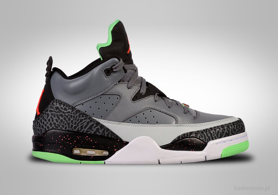 NIKE AIR JORDAN SON OF LOW COOL GREY POISON GREEN