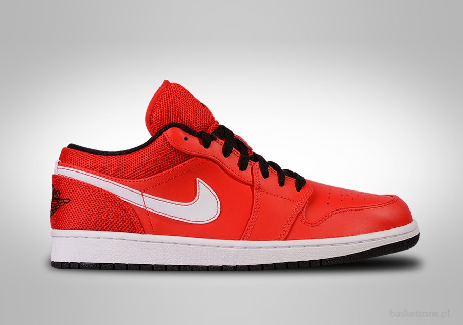 NIKE AIR JORDAN 1 RETRO LOW INTENSE RED