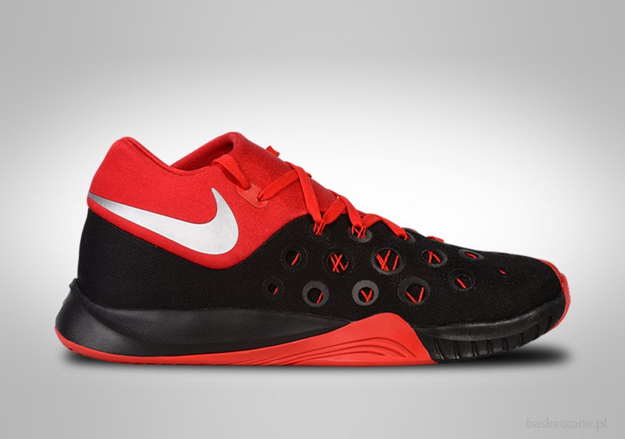 NIKE ZOOM HYPERQUICKNESS 2015 BLACK FIRE RED