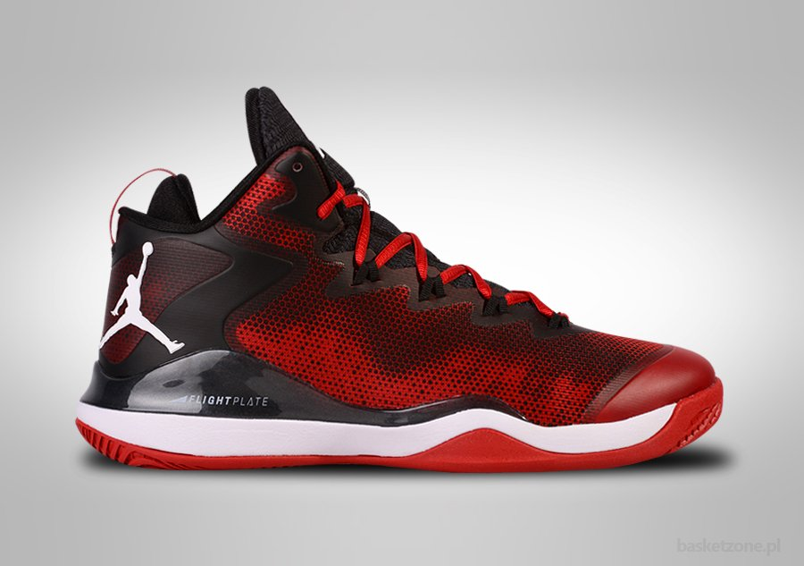 NIKE AIR JORDAN SUPER.FLY 3 BLACK GYM RED BLAKE GRIFFIN