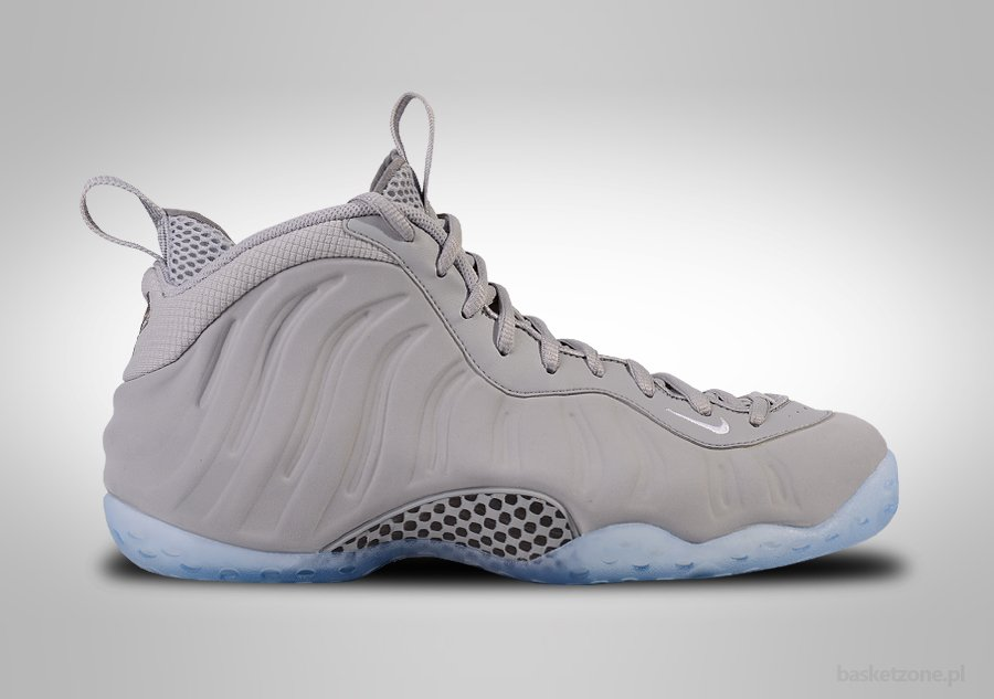 NIKE AIR FOAMPOSITE ONE PRM WOLF GREY SUEDE