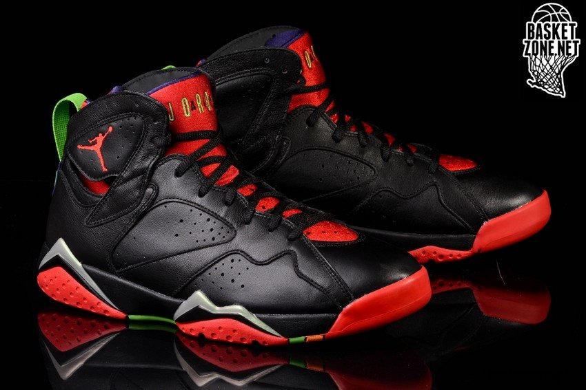 various colors 91088 1800a NIKE AIR JORDAN 7 RETRO  MARVIN THE MARTIAN . 304775-029