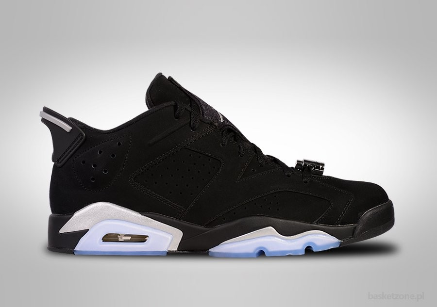 NIKE AIR JORDAN 6 RETRO LOW CHROME GS