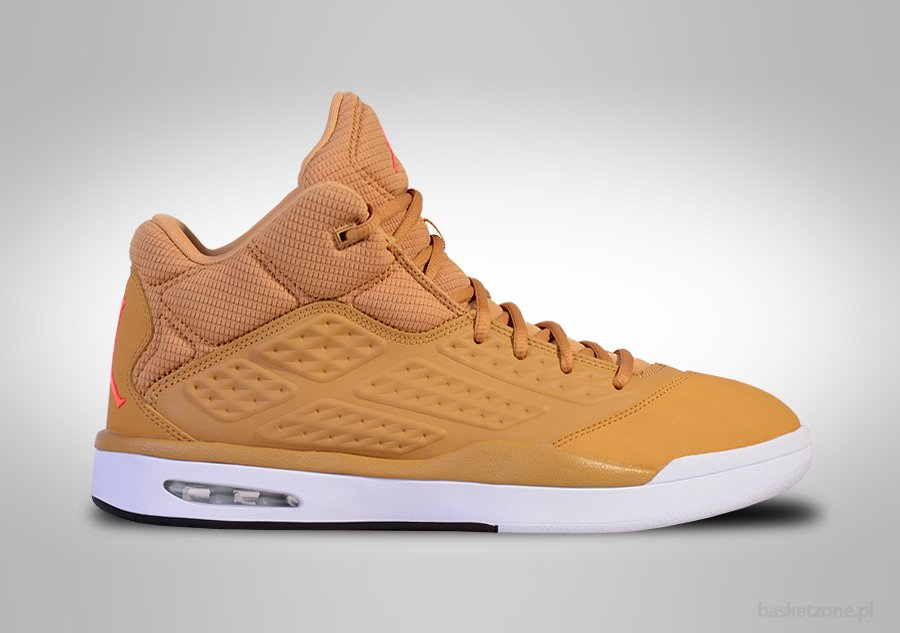 NIKE AIR JORDAN NEW SCHOOL LIGHT BROWN