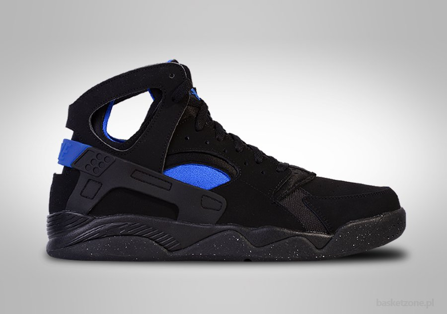 NIKE AIR FLIGHT HUARACHE OG BLACK LYON BLUE KOBE BRYANT
