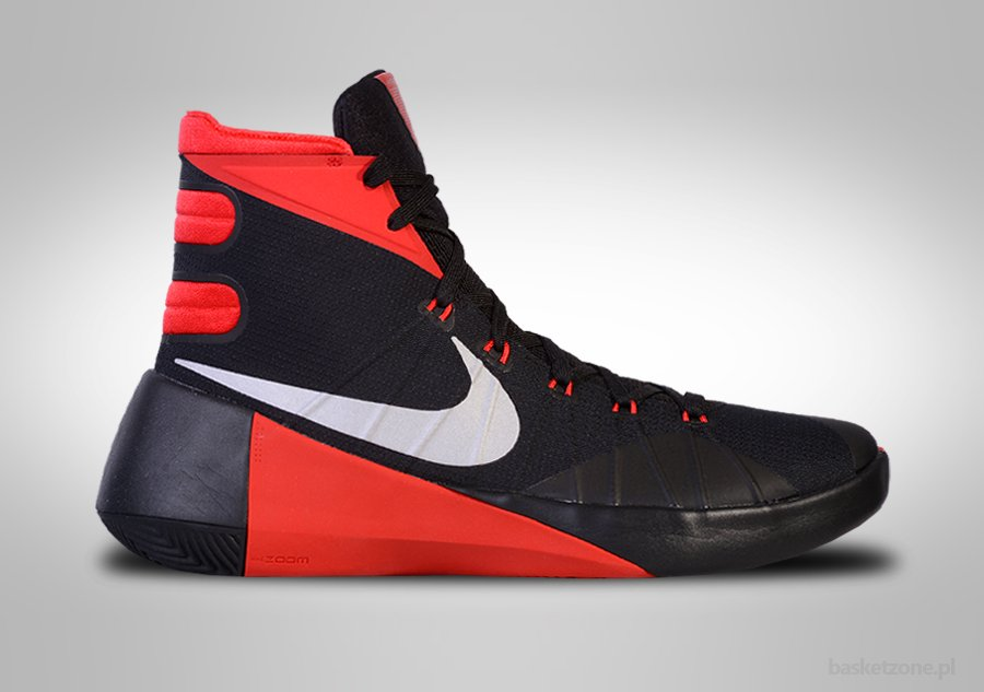 NIKE HYPERDUNK 2015 BLACK RED