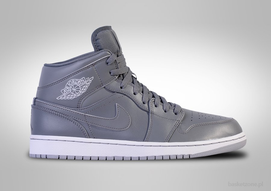 NIKE AIR JORDAN 1 RETRO MID COOL GREY
