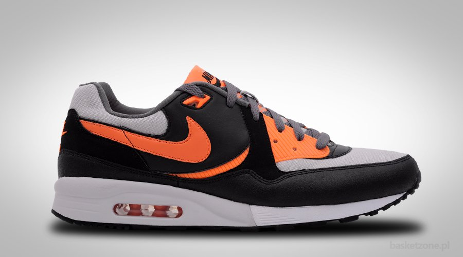NIKE AIR MAX LIGHT ORANGE BLACK